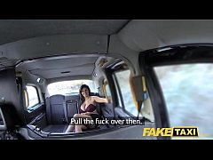 Fake Taxi Frustrated busty Candy Sexton wants drivers big cock